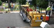 Pervious concrete pavement replaces drainage system in Shoreview, MN USA